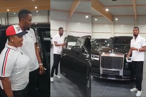 Rev Obofour shows off his $450k 2018 Rolls Royce Phantom