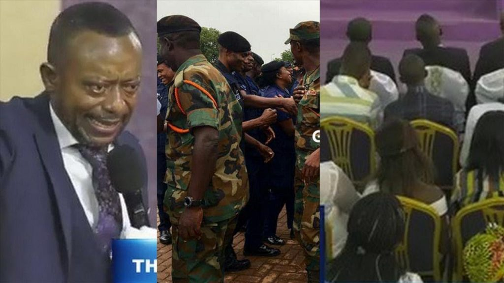 Rev. Owusu Bempah's church was highly guarded, members full on this Sunday (6th Jan 2019) after the Muslims' Zongo Youth Attack