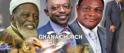 Chief Imam of Ghana, Sheikh Dr. Osmanu Nuhu Sharubutu, Apostle Dr. Isaac Owusu Bempah and Apostle General Sam Korankye Ankrah