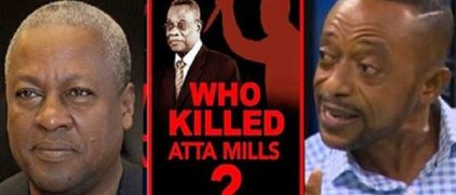 Ex-President John Mahama, Late Prof. John Evans Atta Mills And Apostle Dr. Isaac Owusu Bempah