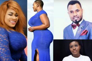 Ernest Opoku Girlfriend Yaa Mary and Ernest Opoku Ex-Girlfriend Nayas 1