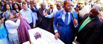 Pastor Alph Lukau - founder of Alleluia Ministries International and ex-dead man Eliot