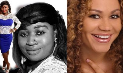 Ghanaian Actress Nadia Buari and Gospel Singer & Nurse Leticia QueenLet