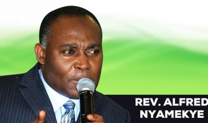 Rev. Dr. Apostle Alfred B. Nyamekye - General Overseer of House of Faith Ministries