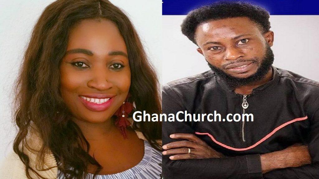 Gospel Vocalist Queen Let of Leticia And Adom FM's Nana Agyei Oberempong CP
