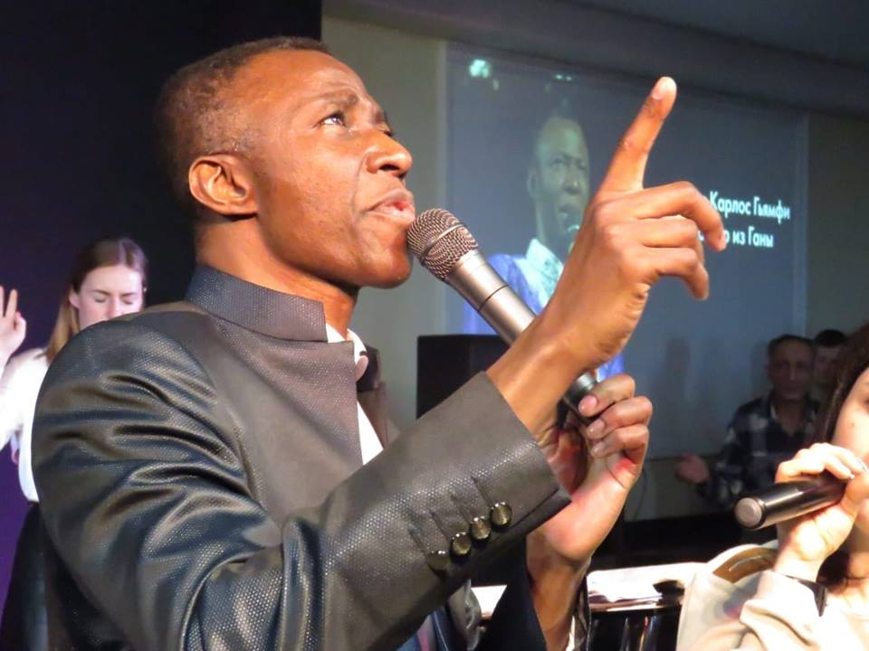 Apostle Thomas Carlos Gyamfi - founder of Faith Gospel Messenger Mission International