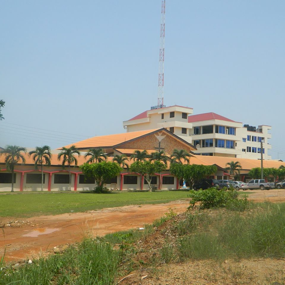 Front View Of Adom Fie - Catholic Charismatic Renewal, Ghana.