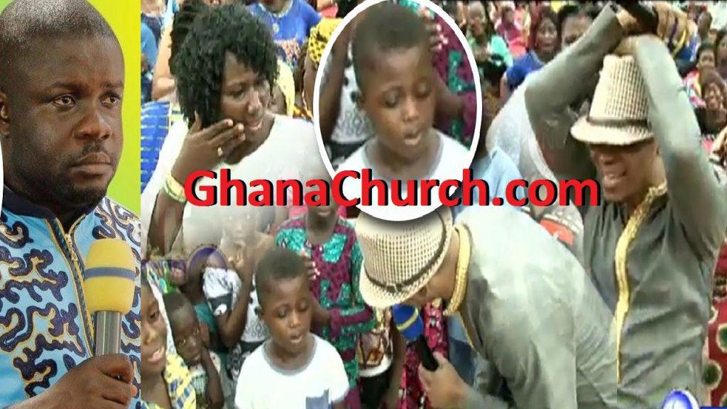 Agya Nkuto boy vs Bishop Obinim boy, challenge, who is who