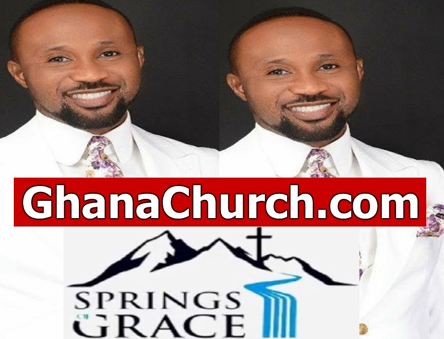 Prophet Prince Elisha Osei Kofi - Head Pastor Springs Of GRACE Executive Ministry