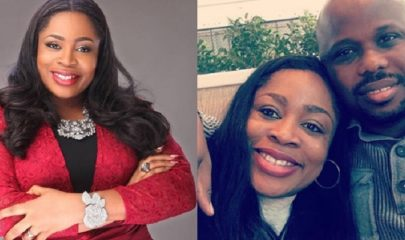 Gospel Star, Sinach And her husband, Pastor Joe Egbu