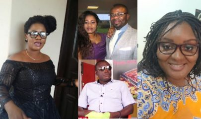 Christiana Love aka Obaapa Christy , Rev Pastor Love Hammond And Nana Frankie
