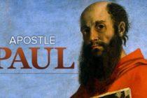 Apostle Paul or Saul of Tarsus