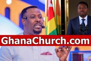 Prophet Nigel Gaisie and Togo President Faure Gnassingbé