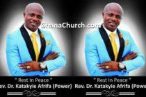 Rev Dr Katakyie Afrifa, popularly known as Power