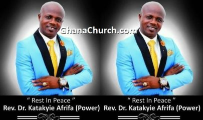 Rev Dr Katakyie Afrifa, popularly known as Power