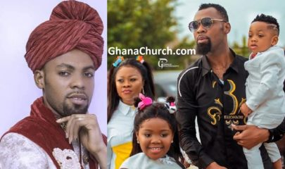 Rev. Obofour, Leader of Anointed Palace Chapel - APC, His wife Queen Ciara Obofowaa And Kids