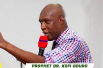 Prophet Dr Kofi Oduro Declares the Winner