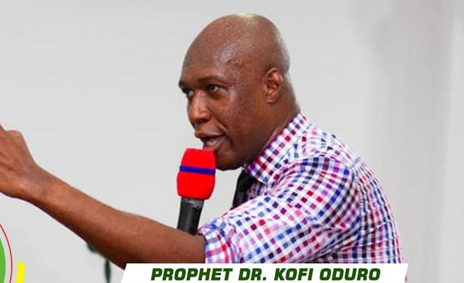 Prophet Dr Kofi Oduro Declares the Winner