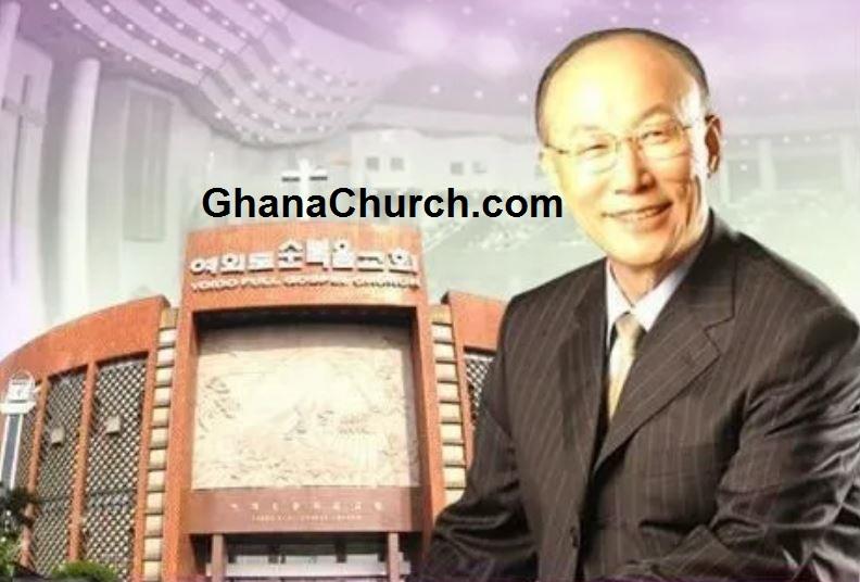 Dr David Yonggi Cho, founder of South Korea's Yoido megachurch