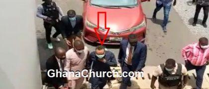 Rev Dr Isaac Owusu Bempah in Ghana Accra Court